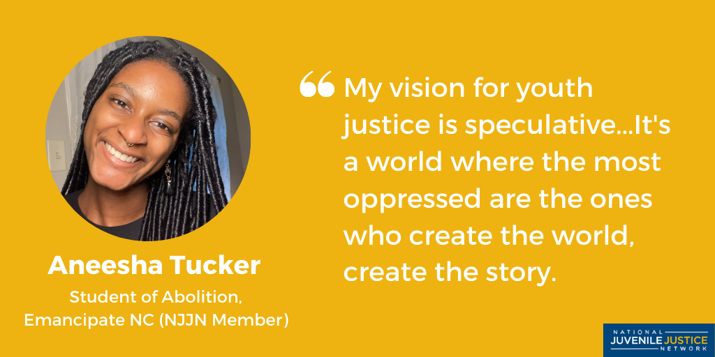 Photo of Aneesha Tucker, NJJN Young Justice Leader Profile